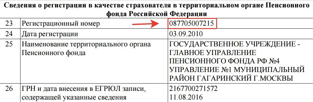 При регистрации ип номер в пфр налоговая декларация 2 ндфл в налогоплательщике